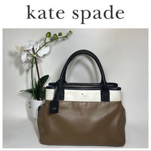 KATE SPADE Cameron Color Block Tote AUTHENTIC